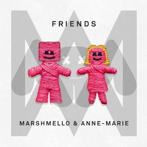 marshmello annemarie friends